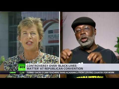 Which lives matter: Carl Dix debates Katie Hopkins
