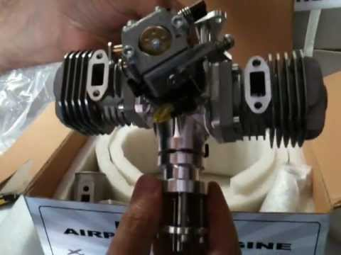 RCGF 40cc Twin Engine