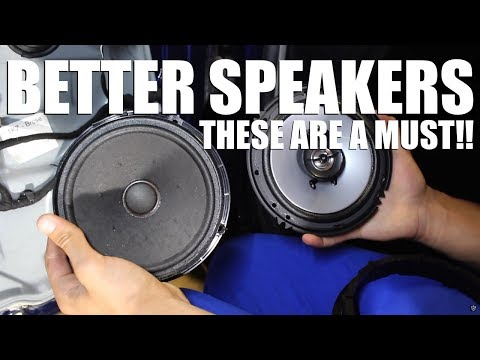 How to Install Aftermarket Speakers