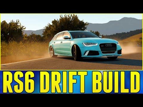 Forza Horizon 2 : Audi Rs6 Drift Build + Announcement!!! video