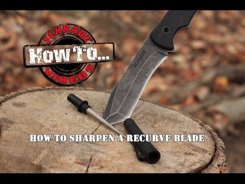How To Sharpen A Recurve Blade