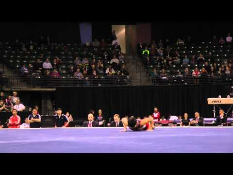 Koji Nonomura - Jr Floor Exercise Finals - 2012 Kellogg&#039;s Pacific Rim Championships - 1st