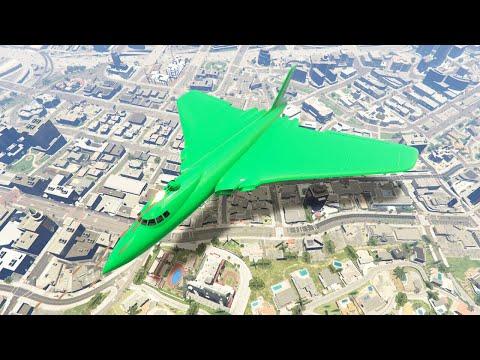 MASSIVE $3.950.000 STEALTH BOMBER PLANE! (GTA 5 DLC)