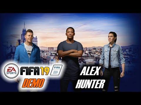 Смотрим FIFA 19 DEMO | АЛЕКС ХАНТЕР В ЛЧ