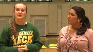 Tech Volleyball vs. Southern Arkansas Highlights