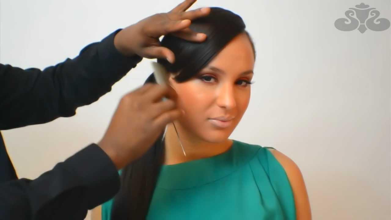Sassy Clip On Bangs for African American Hair