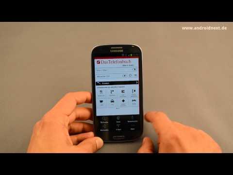 Das Telefonbuch - App-Review - androidnext.de