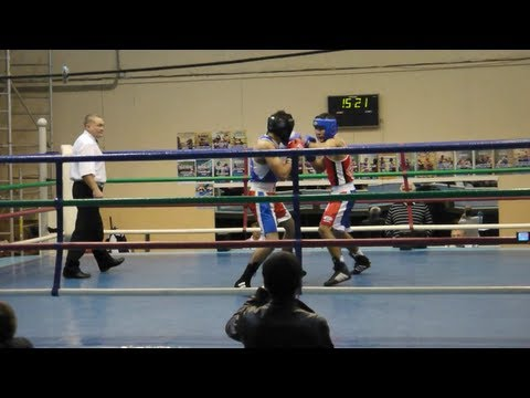 Нокаут в любительском боксе / Knockout in amateur boxing.