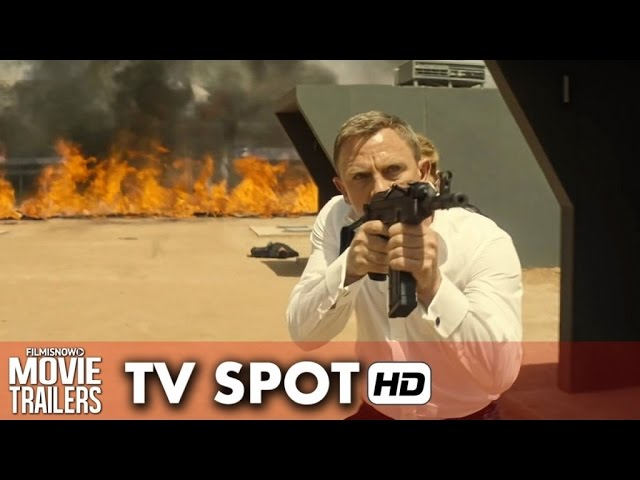 SPECTRE - James Bond 007 TV Spot 'Revenge' (2015) - Daniel Craig [HD]