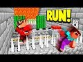 IMPOSSIBLE DEATH RUN CHALLENGE! (Minecraft Escape Death)