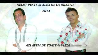NELUT PESTE SI ALEX DE LA ORASTIE--AZI AVEM DE TOATE-N VIATA