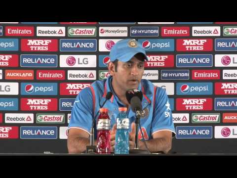 M39 India v Zimbabwe Post Match Press Conference   Mahendra Singh Dhoni   India, English Part 1