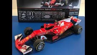 Building the New Tamiya 1/20 FERRARI  SF70H Formula One