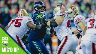 Jarran Reed Mic'd Up Week 17 vs 49ers | 2019 Seahawks Saturday Night