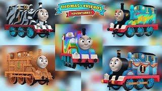 Thomas & Friends: Adventures! - All 5 Thomas Costume