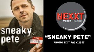 """NMG """"SNEAKY PETE"""" TV SERIES EDIT PACK 2517"""