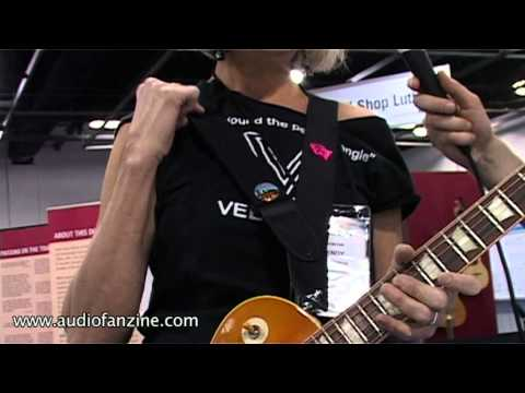 Vee Strap Video Demo [NAMM 2011]