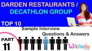 Darden Restaurants Caso 3
