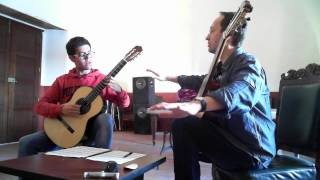 Denis Azabagic teaches La Catedral by A  Barrios Mangore
