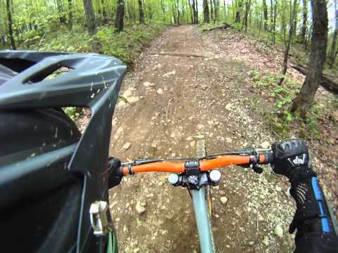 Downhill Bromont trail 51 2011