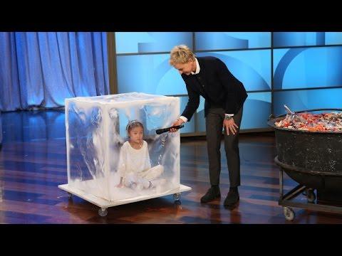 Cute Kids On Ellen Show