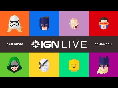 San Diego Comic Con 2015 -  Day 1  - IGN Live Presents