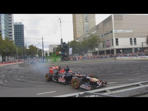 Max Verstappen Formula 1 crash VKV City Racing 2014