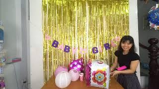 Hướng dẫn tự trang trí tiệc sinh nhật tại nhà