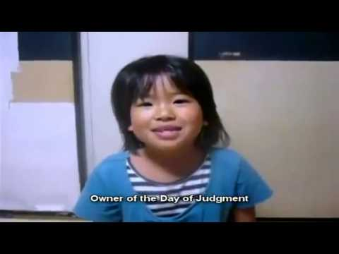Little Japanese Girl Reciting Qu'ran Must See !   Youtube video