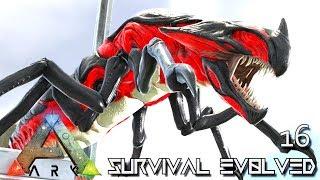 ARK: SURVIVAL EVOLVED - REAPER IMPREGNATION & GLACIAL IGUANODON E16 !!! ( PUGNACIA PARADOS )
