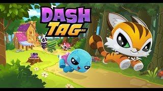 Gấu panda dí thỏ và ếch chạy lụm vàng trong khu rừng vui nhộn - cu lỳ chơi game dash tag