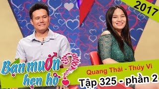 Cat Tuong is surprised by the business man who hasn't had a kiss before|Quang Thai-Thuy Vi|BMHH 325