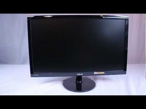 ASUS VS247H-P 23.6IN Widescreen LED LCD Monitor Unboxing