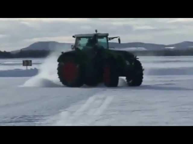 Drift en tracteur