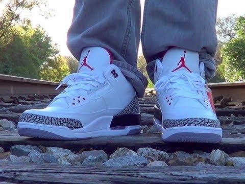 Nike Air Jordan White Cement 3 Retro '88 ON FEET Review