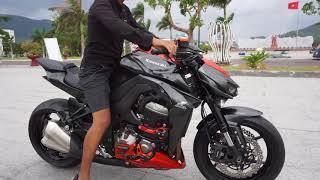 TXT - Trải Nghiệm Mãnh Thú Kawasaki Z1000 ABS