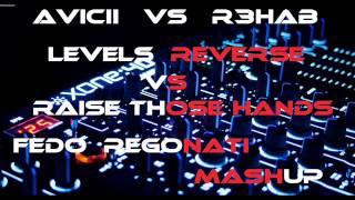 Avicii vs R3hab - levels reverse vs raise those hands (( FEDO REGONATI MASHUP )) HQ