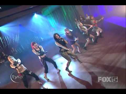 Pussycat Dolls - Buttons Live At Tyra Banks Show video