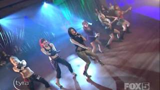 Pussycat Dolls - Buttons Live At Tyra Banks Show