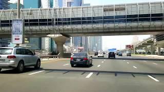 Sheikh Zayed Road Dubai 21st May 2017 دبي