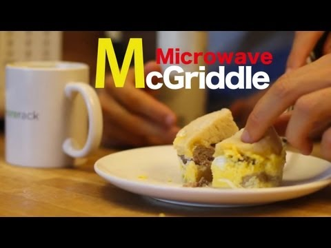 Sausage McGriddle -Microwave Recipe-