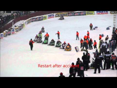 2012 AMSOIL Eagle River World Championship Snowmobile Derby