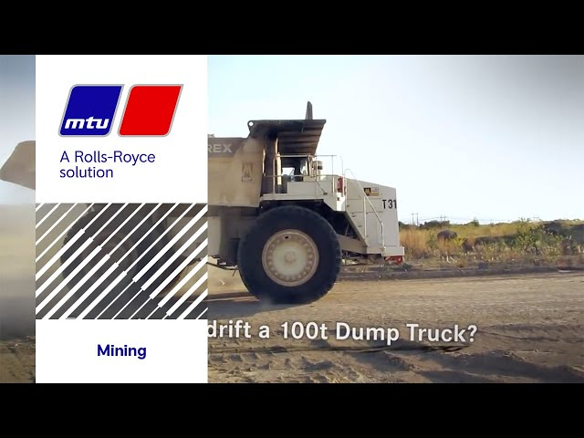 How to drift a haul truck