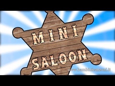 MINI SALOON _ Canzoni per bambini e bimbi piccoli _ baby music cartoon country dance