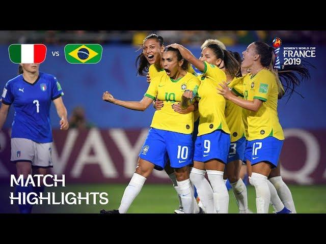 Italy v Brazil - FIFA Women's World Cup France 2019™ thumbnail
