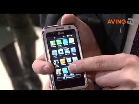 [No-Edit MWC 2009] LG to present its  ARENA KM900