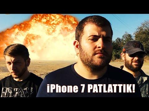 iPhone 7 Patlattık - Yıkadık, Zımparaladık, Deldik, Patlattık!