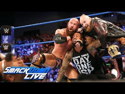 SAnitY wreak havoc on The Usos in their debut: SmackDown LIVE, June 19, 2018
