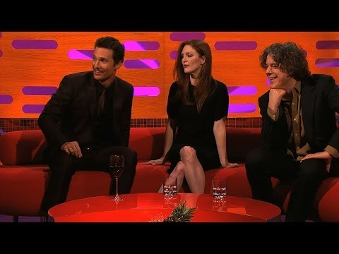 Matthew McConaughey explains his film poster pose - The Graham Norton Show: Episode 14 - BBC One