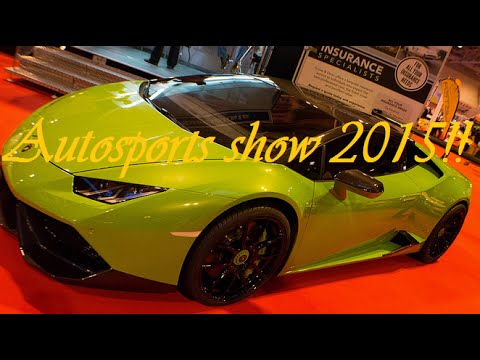 Auto sport International 2015 - Live Show  VLOG 2- NEC Birmingham